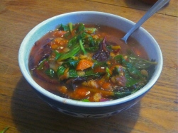 Lentil & Chard Soup